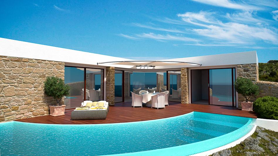 Stavros Beach Resort Tomten